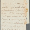 Autograph letter signed to Charles Ollier, Feb.- ?10 March 1831