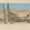 Vue extérieure de l'Eglise de Notre-Dame de Chartres