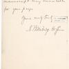 Hoff, A. Bainbridge