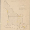 Map of the South Western district Louisiana