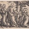 Christ healing a woman