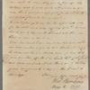 Letter from Dr. N. Romayne