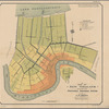 Plate IV: Map of New Orleans showing proposed drainage system