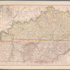 Map of Kentucky and Tennessee: for the Eclectic Geographies