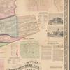 Map of Northumberland County, Pennsylvania