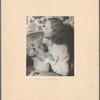 "Tallulah Bankhead with ""Winston Churchill"" (Lion Cub?)"
