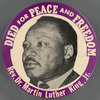 Died for Peace and Freedom: Rev. Dr. Martin Luther King, Jr. BU.X.442 B