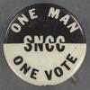 One man, one vote: SNCC, BU.X.644