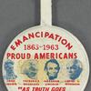 Emancipation 1863-1963: Proud Americans, BU. X.573