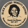 Black history - Women's history: Fannie Lou Hamer, 1917-1977, BU. X.247