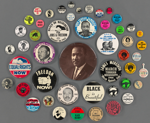 Art and Artifacts Division Button Collection