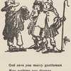 God save you merry gentlemen may nothing you dismay: From a drawing by Pamela Colman Smith, page 28 (detail)