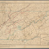 Map of east Tennessee & western North Carolina: showing mineral deposits in vicinity of Knoxville, Tenn.