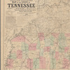 Lloyd's official map of the State of Tennessee: compiled from actual surveys and official documents, showing every rail road & rail road station with the distances between each station : also the counties and county seats, cities, towns, villages, post offices, wagon roads, canals, forts, fortifications, &c.