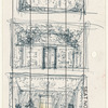 Act I: Concept sketches of opening show drop, house exterior, and living room interior