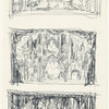 Act II: Concept sketches of castle interior