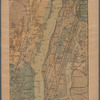 Lloyd's Topographical map of the Hudson River: from the head of navigation at Troy to its confluence with the ocean at Sandy Hook