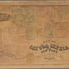 Map of Cayuga and Seneca Counties, New York from actual surveys