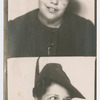 Photo booth portraits of Gwendolyn Bennett