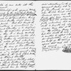 Agreement between Charles Dickens and Richard Bentley re Dickens' editing and contributing to Bentley's Miscellany. Manuscript. In Richard Bentley's hand