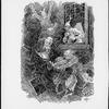 Christmas carol. Clarke, J. C. 6 original pen-and-ink drawings