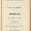 Ancient journals of the House of Assembly of Bermuda, Vol. 2 (1759-1779) pp. 817-1788
