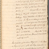 "Draft indenture and ""Historical Memoirs"" entries for 1761 November 11-14"