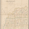 Map of Kentucky & Tennessee: exhibiting the post offices, post roads, canals, rail roads, &c.