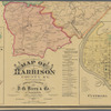 Map of Harrison County, Ky. from new & actual surveys