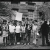 Members of the Gay Liberation Front with GAY POWER shirts at City Hall, New York