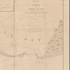 Map of the breach at the head of Presqu'ile Bay: exhibiting a project for forming a navigable channel through it and for preventing its further extension