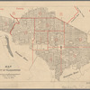Map of the City of Washington: Police District Area, 72 9/100 Sq. Miles