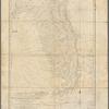 Carte réduite des côtes et de l'interieur de la presqu'île de la Floride: avec la détroit de cette presqu'île et le canal de Bahama