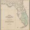 Atlantic and Gulf Coast Canal and Okeechobee Land Company of Florida: showing area lands to be improved by construction of canal giving an outlet to Lake Okeechobee area upwards of 8,000,000 acres