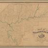 Map of Venango County, Pennsylvania