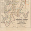 Lloyd's map of the Great Oil Region of Allegheny River, Cherry & Cherry-Tree runs, and Pithole Creek: in Cornplanter, Cherry-Tree & Allegheny townships, Venango County, Pennsylvania