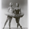 Maria Tallchief dressed as Odette in Swan Lake, Act II and Yvonne Chouteau dressed as Princess Florisse in The Sleeping Beauty, Act III, no. 50