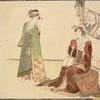 Two women, one wth samisen