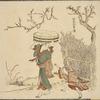Washerwoman and child