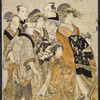 Procession of courtesans in the 9th month