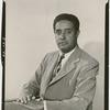 Portrait of labor leader and Manhattan Borough President candidate Ewart Guinier