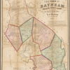 Map of the town of Raynham, Bristol County, Mass. surveyed by order of the town