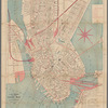C.W. Hobbs' traveler's guide map to the city of Boston