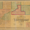 Topographical map of the County of Winnebago, Illinois