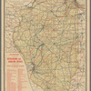 Railroad map of Illinois, 1894-5