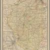 Railroad map of Illinois, 1891