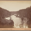 Rapids of Yellowstone River, above upper falls, instantaneous