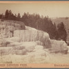 Diana's Terraces, Mammoth Hot Springs