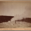 Old Faithful Geyser Cone, steaming