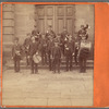 [A musical band of men and a young boy with their instruments], Steubenville, Ohio